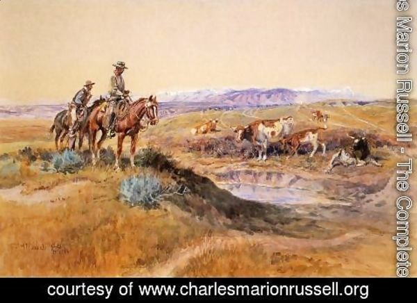 Charles Marion Russell - Worked Over