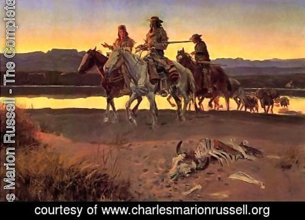 Charles Marion Russell - Carson's Men