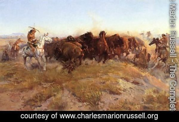 Charles Marion Russell - The Surround