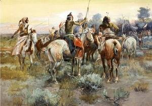 Charles Marion Russell - The Truce