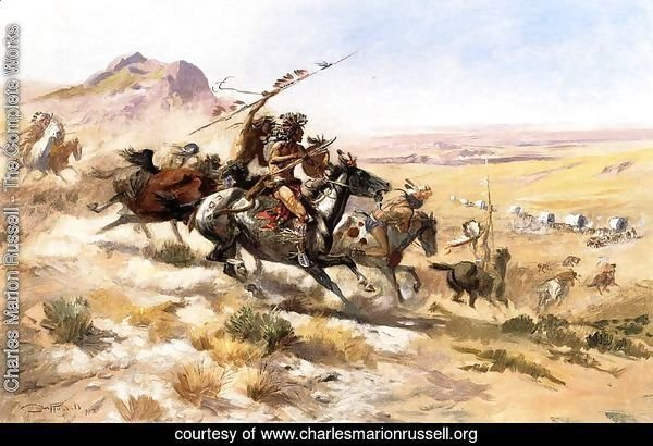 Attack on a Wagon Train
