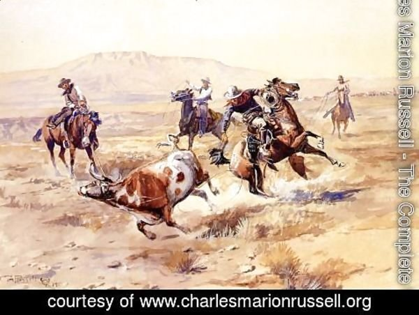Charles Marion Russell - The Renegade