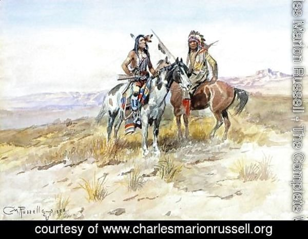Charles Marion Russell - On the Prowl