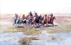 Cree War Party