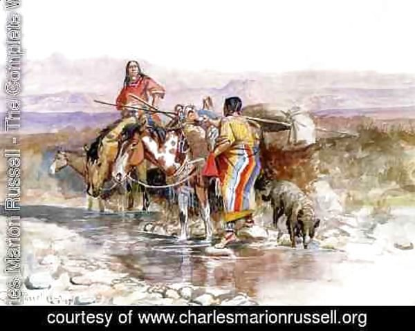 Charles Marion Russell - Thirsty