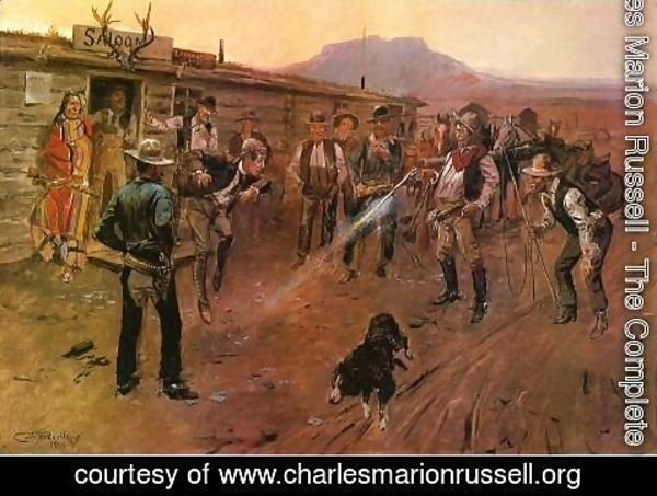Charles Marion Russell - The Tenderfoot