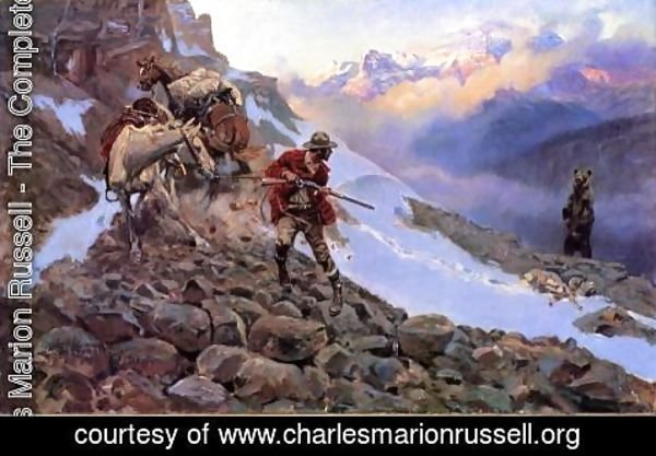 Charles Marion Russell - Whose Meat?