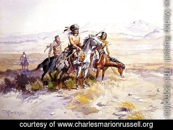 Charles Marion Russell - In Enemy Country