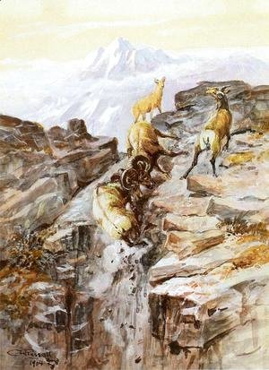 Charles Marion Russell - Big Horn Sheep