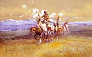Charles Marion Russell - Indian Party