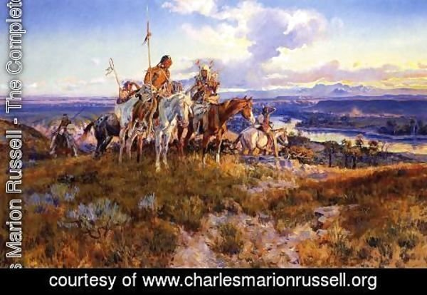 Charles Marion Russell - Wagons