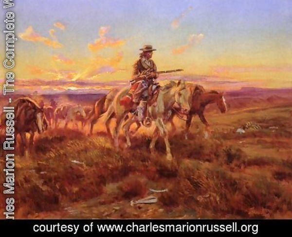 Charles Marion Russell - The Free Trader