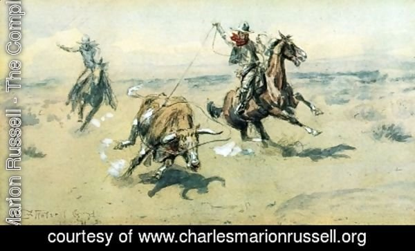 Charles Marion Russell - The Bolter, #2