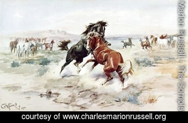 Charles Marion Russell - The Challange, #2