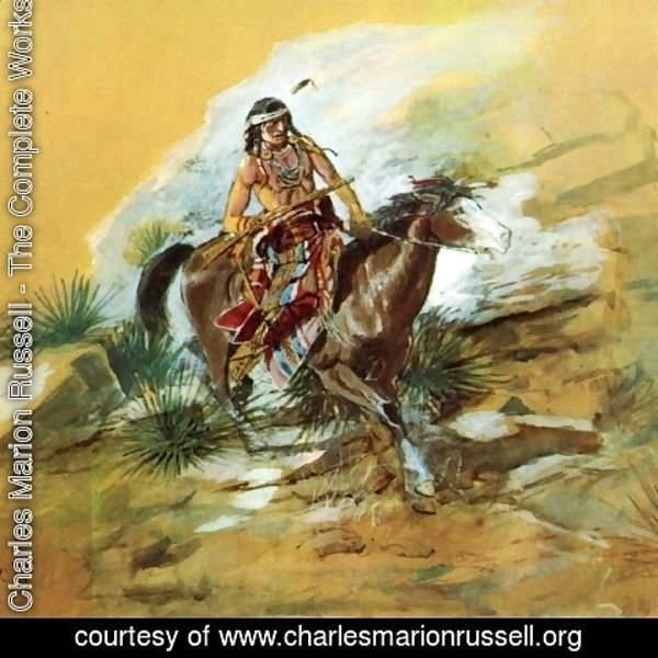 Charles Marion Russell - The Crow Scout