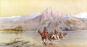Charles Marion Russell - Crossing the Missouri, #1
