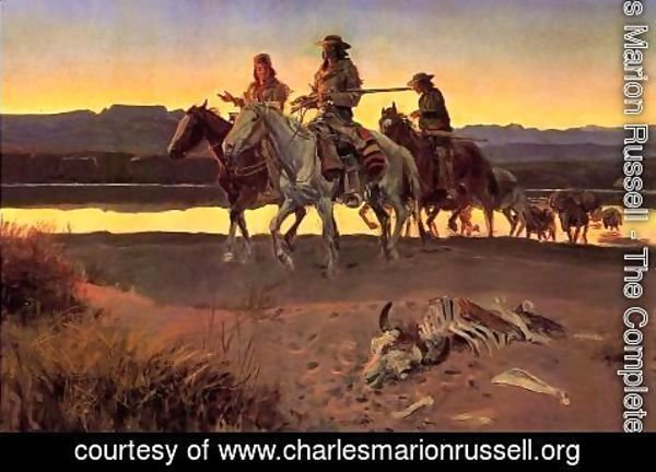 Charles Marion Russell - Carson's Men (also known as appraisal values)
