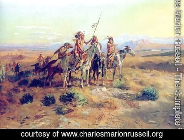 Charles Marion Russell - The Scouts