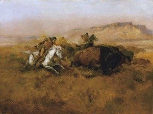 Buffalo Hunt No. 12