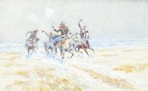 Cowboys on the Plains