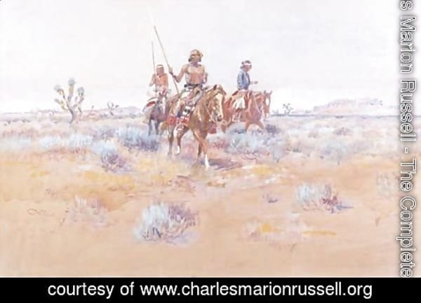 Charles Marion Russell - The Navajos