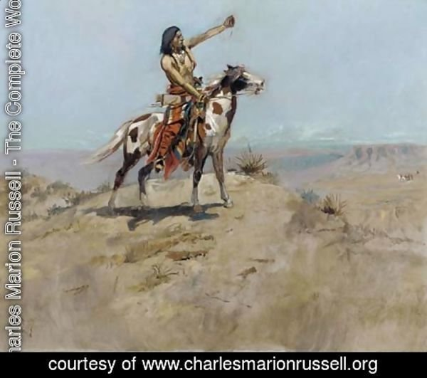 Charles Marion Russell - The Signal 2