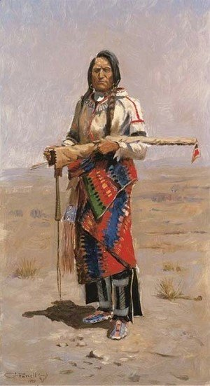 Charles Marion Russell - Indian Buck